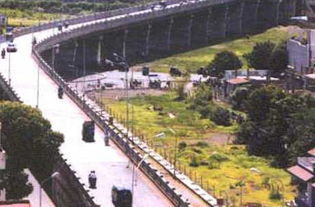 Bridge construction by Surat Municipal Corporation
