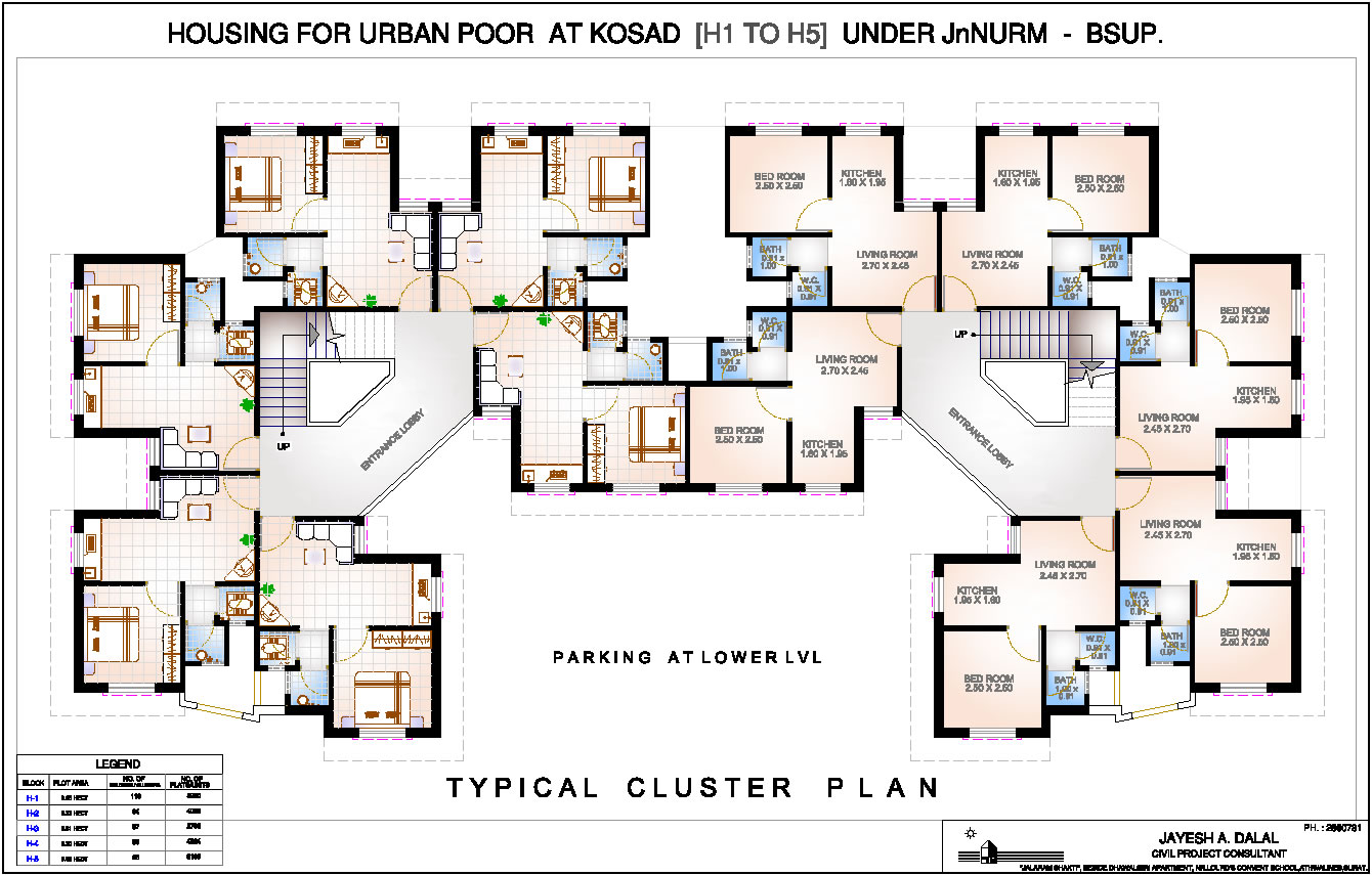 Modern Family House Floor Plan House Plans